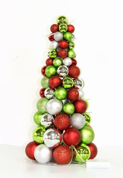 45cm Christmas Ornament Tree Off Lights