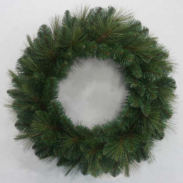 New design promotional PVC artificial christmas wreath/garland
