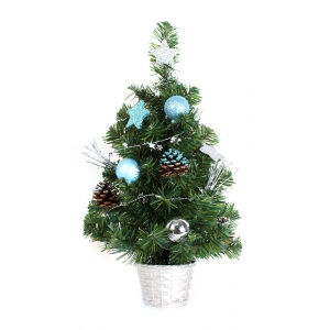 2' tabletop led light artifical pvc christmas tree