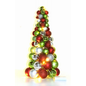 45cm Colorful Tabletop Decoration Christmas Ornament Tree