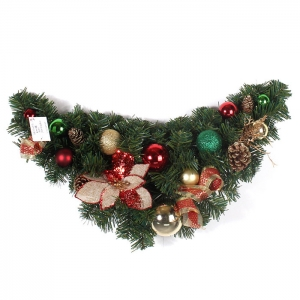 60cm Xmas deco Swag wholesale