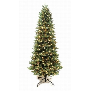 7FT high quality slim led light artificial christmas tree