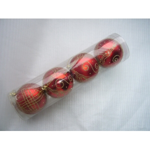 Ornamental Plastic Christmas Decoration Ball