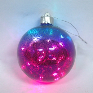 Attractive New Type Glass Ball With Led Lights