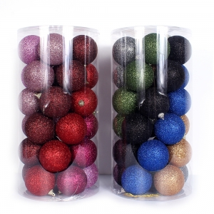 Attractive Plastic Christmas Ornament Ball