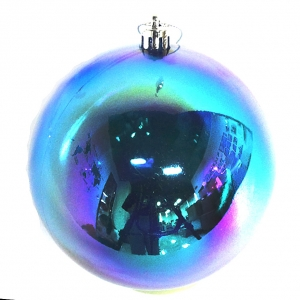 Attractive wholesale christmas plastic ball ornament