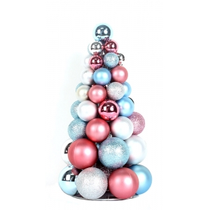 BSCI Certified Factory Make Artificial Christmas Ball Tree