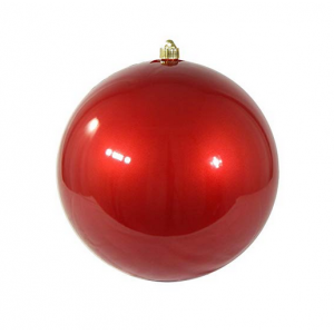 Candy Color Shatterproof Plastic Xmas Ball