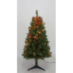 Christmas ceramic tree PVC christmas tree outdoor colored light Christmas tree