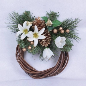 Christmas ornament wreath wholesale