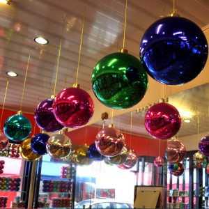 Decorative High Quality Large Xmas Hanging Ball