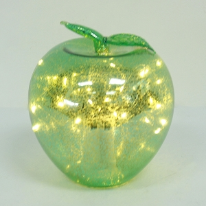 Decorative Lighted Christmas Glass Ornament