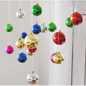 Decorative Shatterproof Christmas Hanging Ball