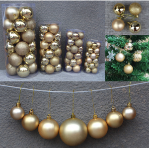 Decorative Shatterproof Hanging Christmas Ball