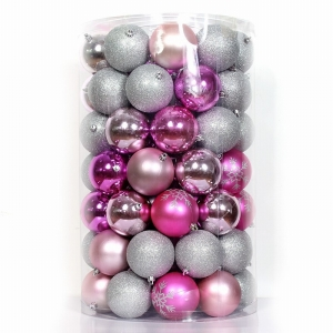 Decorative excellent quality plastic Christmas ornament ball