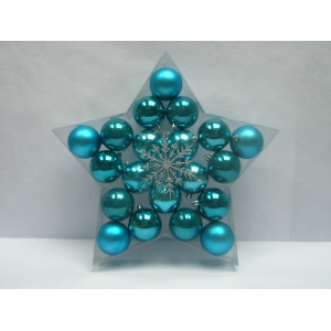 Delicate Multicolor Christmas Ball Ornament
