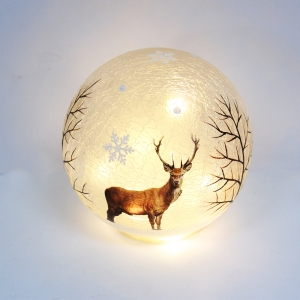 Durable Decorative Lighted  Ball Decoration