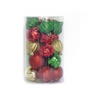 Durable New Type Christmas Ball Ornaments