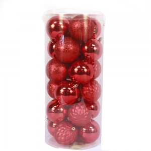 Excellent Quality Plastic Christmas Ball Decoration