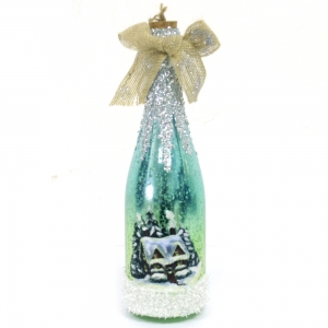Fashionable HIgh Quality Bottle Shape Lighted Ornament