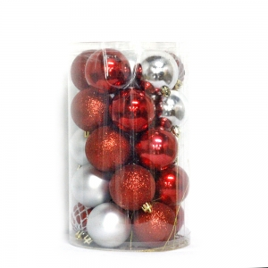 Fashionable Plastic Ball Christmas Decor
