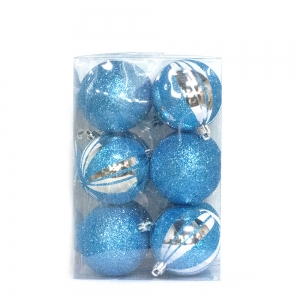 Fashionable luxury christmas plastic ball decoration