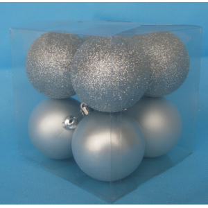 Fine Quality Shatterproof Christmas Ball Decoration Set