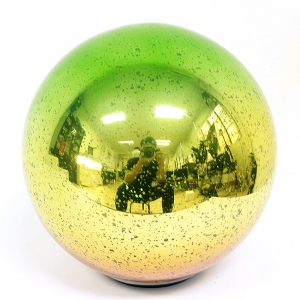 Good Quality Glass Ball Ornament With Led Lights