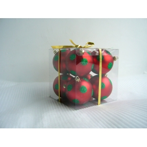 Gorgeous Painted Handmade Christmas Ball
