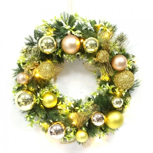 High Quality Floral Christmas Decorative Wreath