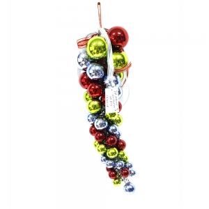 High Quality Popular Plastic Christmas Hanging Ball