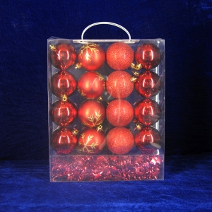 Hot Selling Christmas Decorative Ornament Ball Set