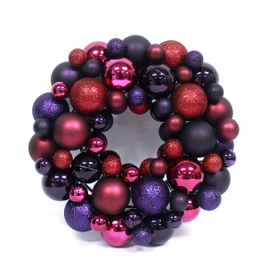 Hot Selling Inexpensive High Quality Christmas Ball Wreath