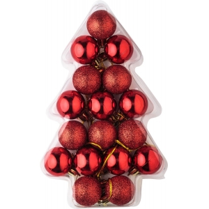 Hot Selling Inexpensive Plastic Christmas Ball Set