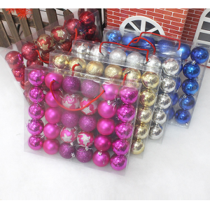 Hot Selling Popular Plastic Christmas Ball With Printing