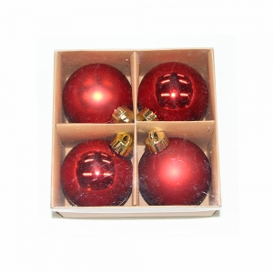 Indoor Christmas ornament shatterproof plastic Xmas decorative ball