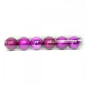 "Inexpensive Shatterproof  2.36"" Xmas Ball Tube"