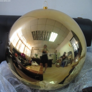 Large Christmas Ball Ornaments For Shopping Mall