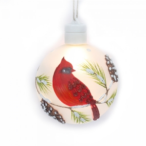 Luxury Decorative Painted Glass Xmas Ball