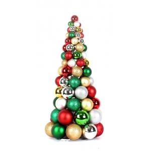 machen 24 dekorative kugel weihnachtsbaum weihnachten. Black Bedroom Furniture Sets. Home Design Ideas