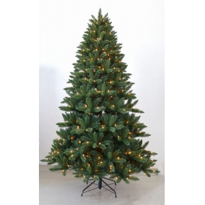 Most realistic 7.5 FT LED clear-lit  full christmas trees