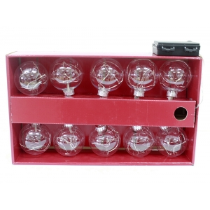 New Arrival Salable Xmas Glass Oranment Set