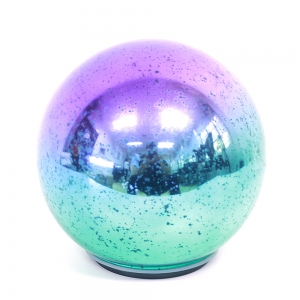 New Style Christmas Glass Bauble With Light