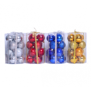 New Type Salable Christmas Ball Tube
