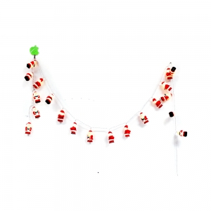 New Type Santa Hanging Ornament With Lights