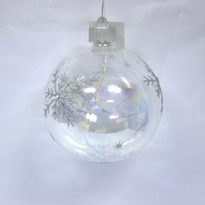 Ornamental High Quality Xmas Decorating Lighted Ball