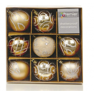 Ornamental Hot Selling Decorating Xmas Ball Set
