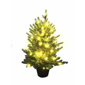 Promotion 2 ' small Gift Items portable miniature Christmas tree