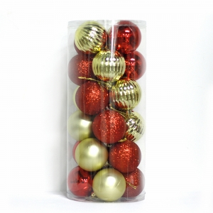 Promotional Plastic Christmas Ball Decoration