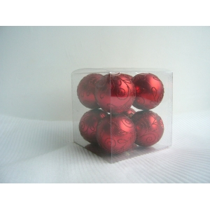 Promotional Plastic Christmas Ornaments Ball